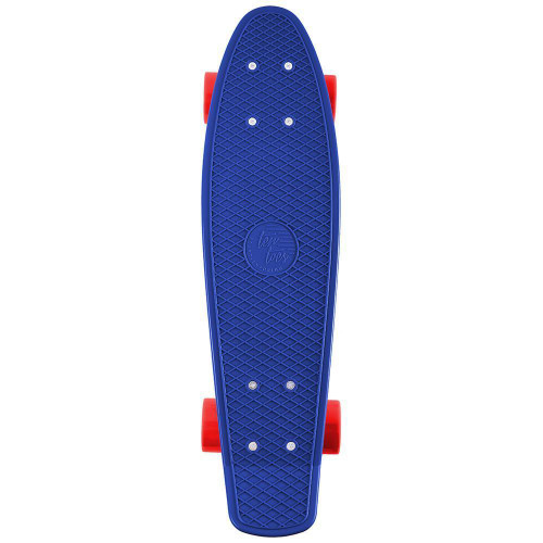 "Quip Mini Cruiser Skateboard - Navy/Red - 22.5"""