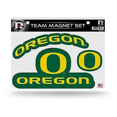 "Oregon Ducks Team Magnet Set 8.5"" x 11"""
