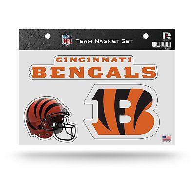 "Cincinnati Bengals Team Magnet Set 8.5"" x 11"""