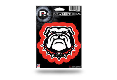 Georgia Bulldogs Medium Die-Cut Window Decal