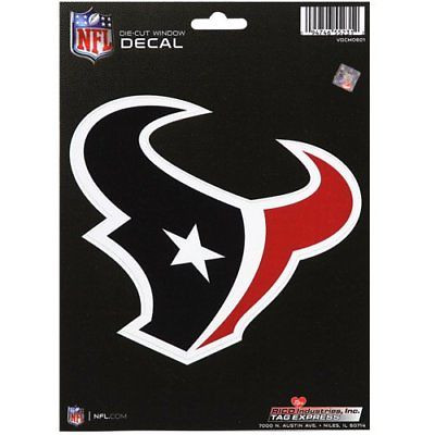 Houston Texans Medium Die-Cut Window Decal