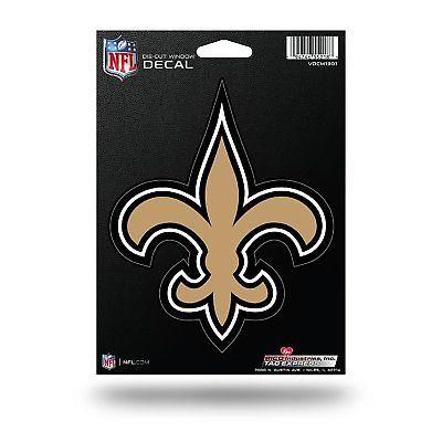 New Orleans Saints Medium Die-Cut Window Decal