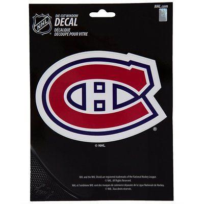 Montreal Canadiens Medium Die-Cut Window Decal