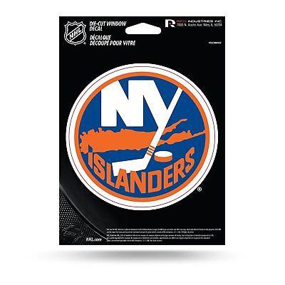 New York Islanders Medium Die-Cut Window Decal