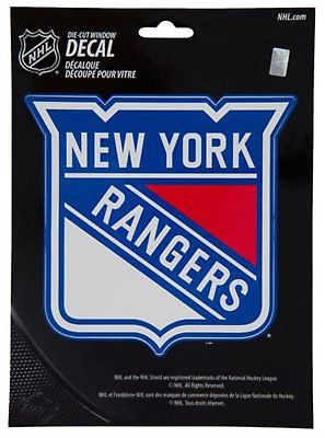 New York Rangers Medium Die-Cut Window Decal