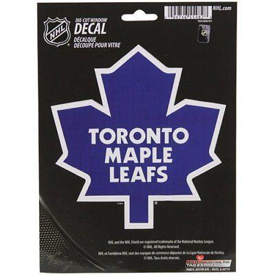 Toronto Maple Leafs Medium Die-Cut Window Decal