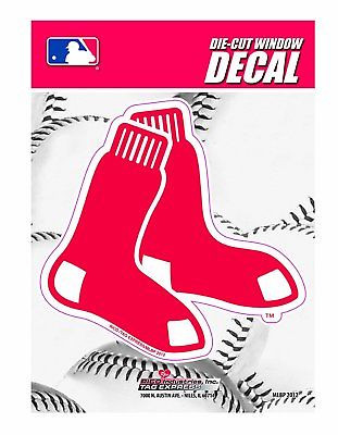 Boston Red Sox Medium Die-Cut Window Decal