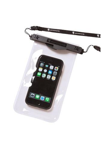 Geckobrands Waterproof Magnetic Phone Dry Bag - Black