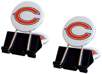 NFL Chicago Bears MyFanClip Multipurpose Clips (Pack of 2)