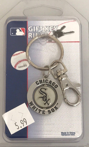 Chicago White Sox Large Ring Keyring - Clearance