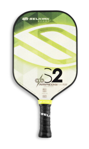 Selkirk S2 AMPED Pickleball Paddle - Lightweight - Emerald Green