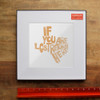 If You Are Lost Return Here   Texas Shaped Print