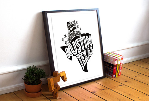Austin | Greetings From Print