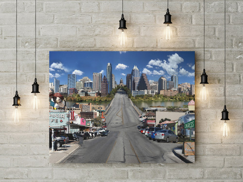 Austin | Congress Avenue Print