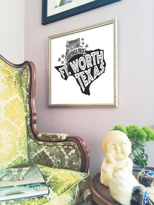 Fort Worth | Greetings From Print