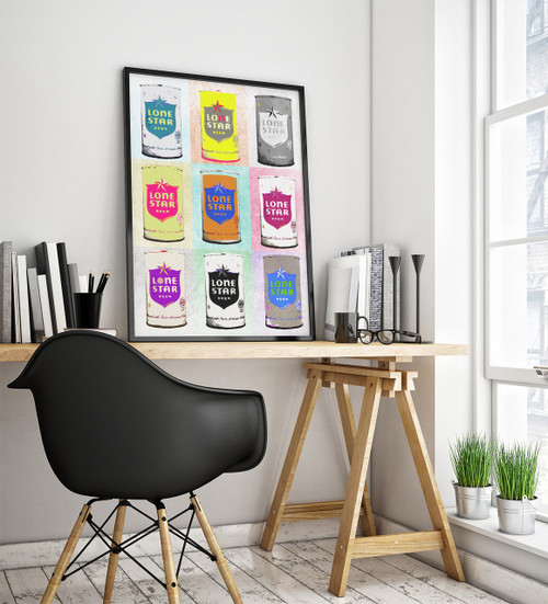Lone Star Beer | Pop Art Print