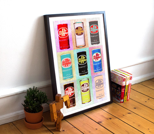 Dr. Pepper | Pop Art Print | Sort of Cool
