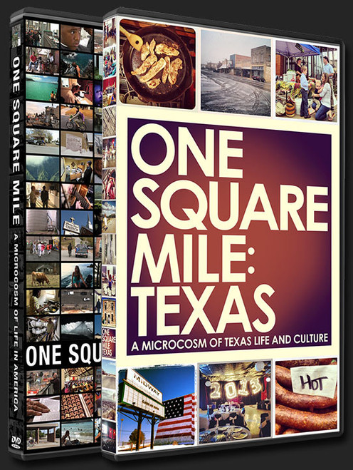 One Square Mile, Square Mile Documentary series, Square Miles Texas, Carl Walker Crum, Barrow Documentary, Barrow Square Mile, Hanalei Square Mile, Kennard Square Mile, New Orleans One Square Mile, Wilton Manors One Square Mile,  Wilton Manors, Austin Square Mile, Houston Square Mile, Southtown San Antonio, El Paso Square Mile, Nacogdoches Square Mile, Silverton Square Mile, Midland Square Mile, Port Isabel Square Mile, Brazos Film and Video, PBS Documentary Series, Square Mile,  how many square miles are in Texas