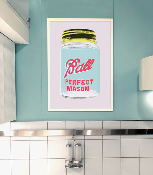 Ball Mason Jar | Pop Art Print