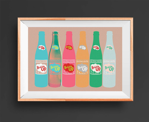 Bubble Up | Pop Art Print