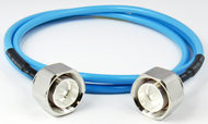 "C568-141-12 4.3/10-Male to 4.3/10-Male Low PIM 2.7 Ghz 12"" Cable Assembly Centric RF"