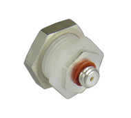 C9413 10-32/Female to 10-32/Female Bulkhead with Isolated Ground Adapter Centric RF