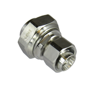 C8568 4.3/10 Male to 7/16 Male 6 Ghz Low PIM Adapter Centric RF