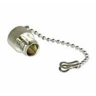 CDT1FC TNC/Female Brass Dust Cap with Chain Centric RF