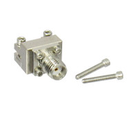 """292-04A-6 SMA End Launch Connector .010"""" pin Low CentricRF"""