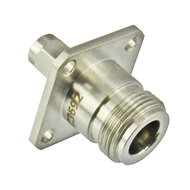 C3692 N/Female to SMA/Male Flange 18 Ghz Adapter Centric RF