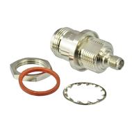 C3612 N/Female to SMA/Female Bulkhead Adapter Centric RF