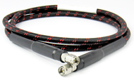 """C580-094-12 SMA/Male to SMA/Male Armored Test 12"""" Cable Assembly Centric RF"""