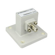 CWR90SC Wavehuide WR90 to Coaxial SMA. Waveguide to Coax Adapter. 8.2-12.4Ghz VSWR 1.25. Centric RF