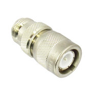 C4923 Type C Male to N Female Adapter VSWR 1.25 Brass Centric RF