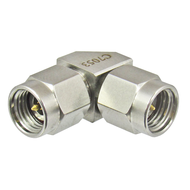 C7053 2.92mm Right Angle Male to Male Adapter 40GHz Centric RF