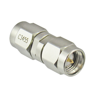C3455 SMA Male to Male Adapter 27gh Centric RF