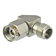 C7552 2.4/Male to 2.4/Female Right Angle 90 Degree Adapter Centric RF