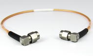 C7373-316-XX SMA Male R Angle to Male R Angle RG316 Custom Cable Assembly 37 to 60 inches Centric RF