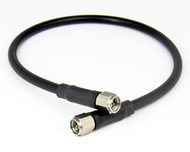 C5353-200-XX SMA/Male to SMA/Male Customer Cable Assembly with LMR200 37-60 Inches Centric RF