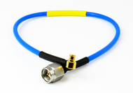"""C574-086-09B Cable SMP /FRA to SMA/M 086 Flexible 18Ghz VSWR 1.35 9"""" Centric RF"""