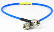 C581-086-09 SMA/Male to SMA/Male .086 9 inch Flexible Cable Centric RF