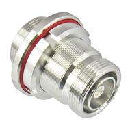 C8307 7/16 F/F DIN Adapter Bulkhead VSWR 1.25 6Ghz Low PIM Centric RF