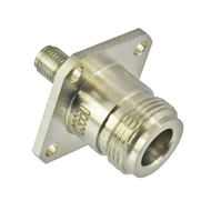 C3660 N/Female to SMA/Female 4 hole flange adapter Centric RF
