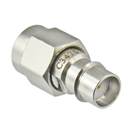 C3476 SMA Female Snap on to SMA Male Adapter VSWR 1.2 18ghz Centric RF