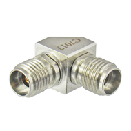 C7017 2.92mm Right Angle Adapter Female to Female Centric RF