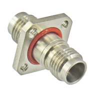 C7533 2.4mm Female to 2.4mm Female Flange Adapter Centric RF