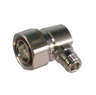 C8428 7/16 Female to N/Male Low PIM Right Angle Adapter Centric RF