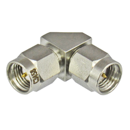 C3458 SMA/Male to SMA/Male Right Angle 90 Degree Adapter Centric RF