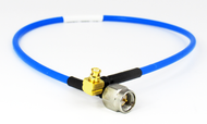 C574-086-12 SMA/Male to SMP/Female Right Angle .086 12 inch Cable Assembly Centric RF