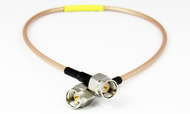C594-316-12 SMA/Male to SMA/Male RG316 12 inch Cable Centric RF